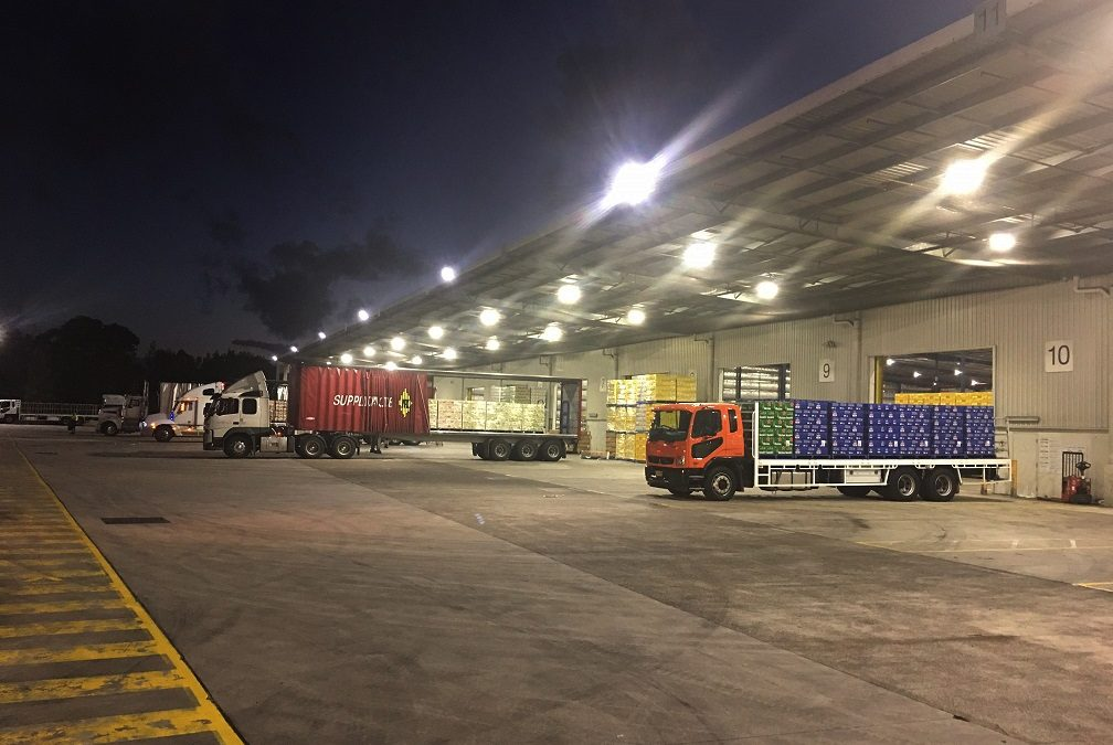 HP Winner Floodlights installed at leading beverage distributor Bevchain
