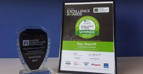 Maser's partner Laser Electrical Granville wins NSW Energy Efficiency Project of the Year for Costa Group installation