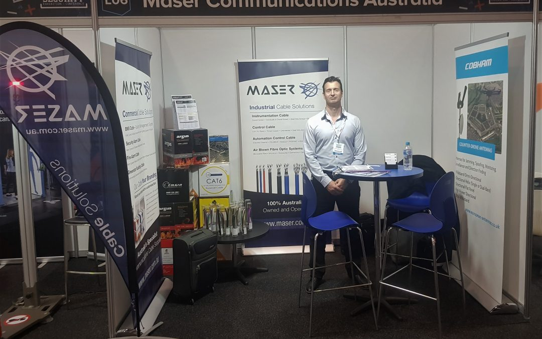 Maser at 2018 Security Exhibition & Conference