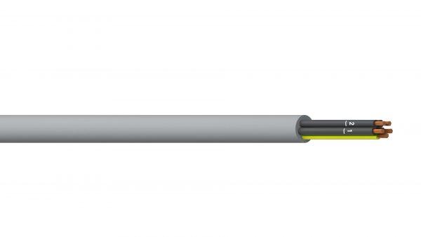 4C+E 1.0mm2 Unshielded PVC/PVC Flexible Control - Grey Sheath