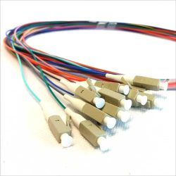 PIGTAIL LEADS LC/PC CONNECTOR OM3 MULTIMODE 1 METRE (12 PK.)