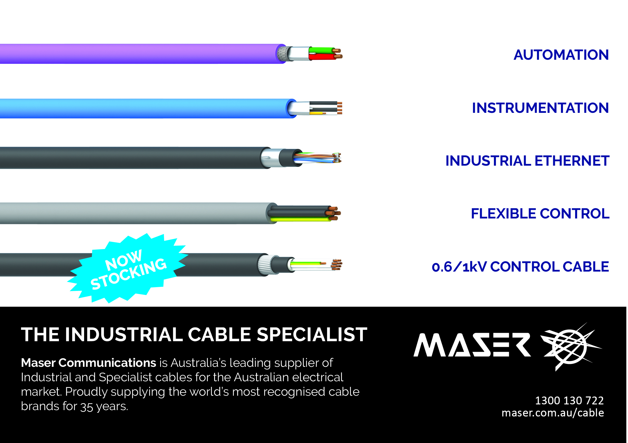 Maser – the Industrial Cable Specialist