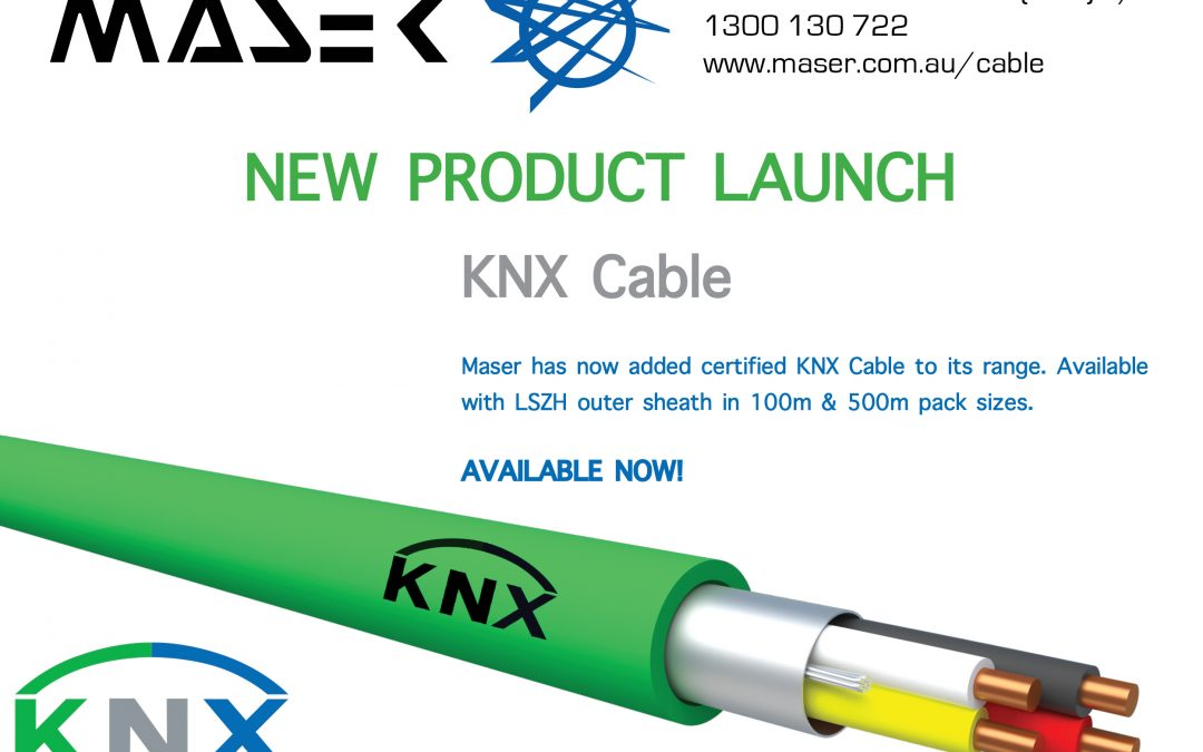 Maser adding KNX Cable to its range