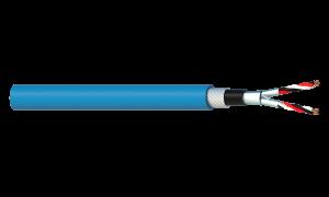 2 Triad 1.5mm2 Cu/PVC/ISOS/PVC/SWA/PVC Maser Instrumentation Cable - Blue Sheath