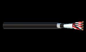 4 Triad 1.5mm2 Cu/PVC/OS/PVC/SWA/PVC Maser Instrumentation Cable - Black Sheath
