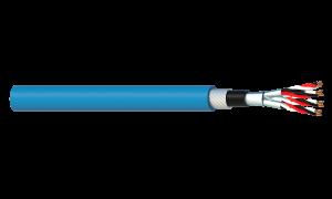 4 Triad 1.5mm2 Cu/PVC/ISOS/PVC/SWA/PVC Maser Instrumentation Cable - Blue Sheath