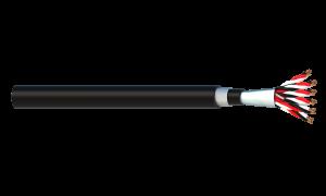 6 Triad 1.5mm2 Cu/PVC/OS/PVC/SWA/PVC Maser Instrumentation Cable - Black Sheath