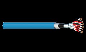 6 Triad 1.5mm2 Cu/PVC/ISOS/PVC/SWA/PVC Maser Instrumentation Cable - Blue Sheath