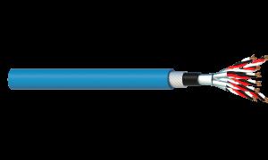 8 Triad 1.5mm2 Cu/PVC/ISOS/PVC/SWA/PVC Maser Instrumentation Cable - Blue Sheath
