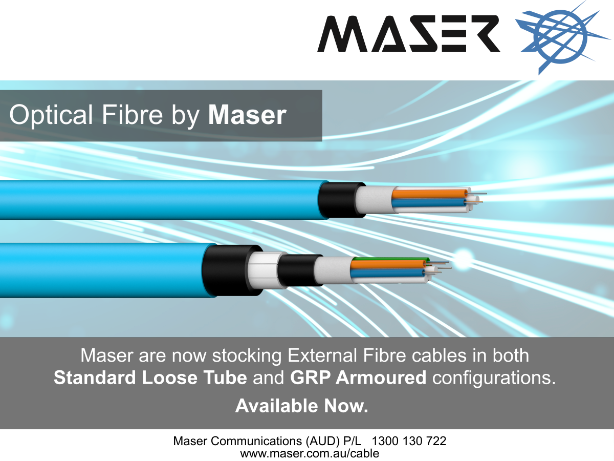 Maser Cable are now stocking External Fibre cables