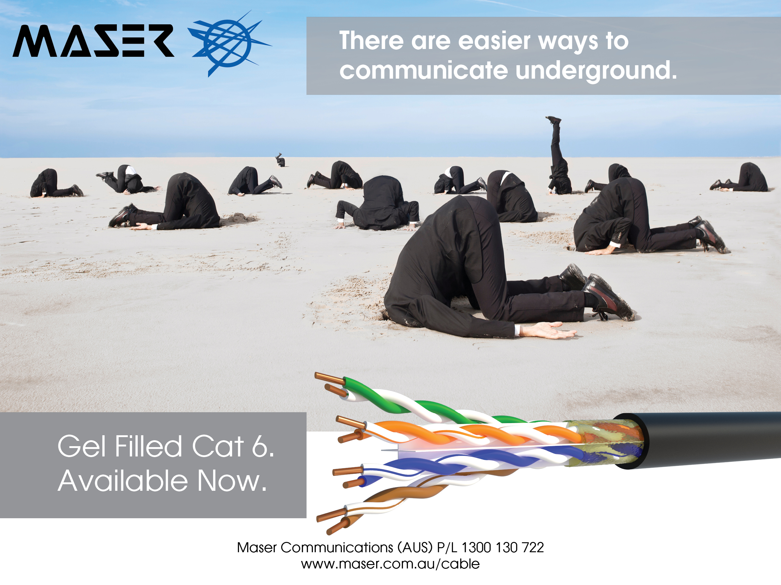 Cat 6 Underground Cable now in stock!