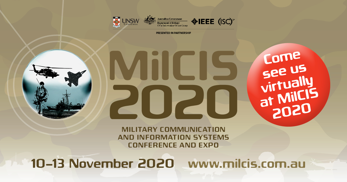 Maser Defence at Virtual MilCIS 2020