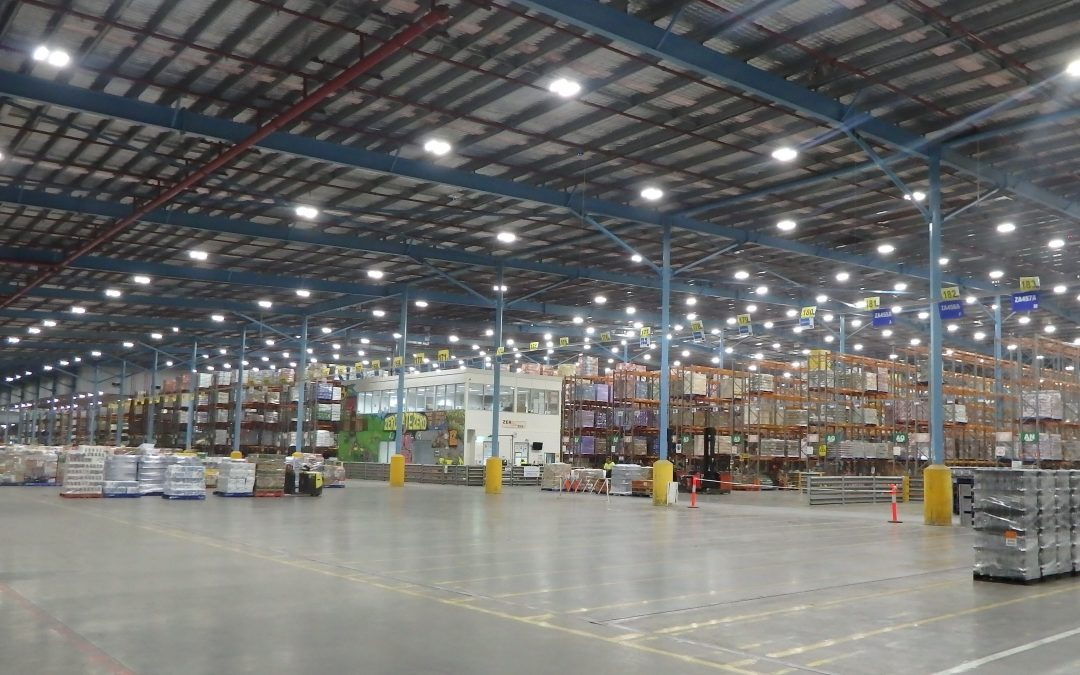 Woolworths Retrofits Multiple Facilities with Digital Lumens Intelligent Lighting System