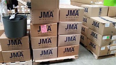 JMA telco products available ex-stock from Maser