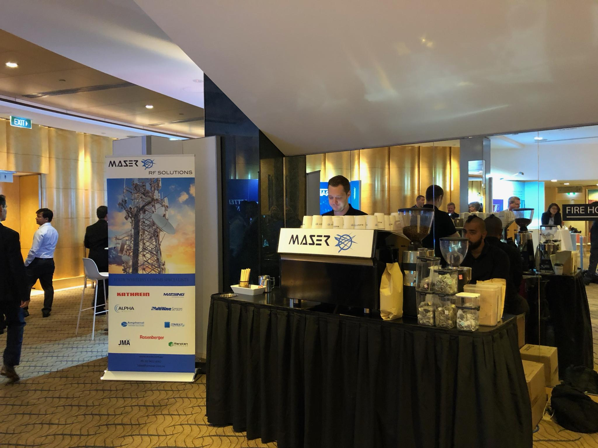 Maser at Comms Day 2019