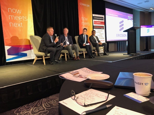Maser at Melbourne Comms Day 2019