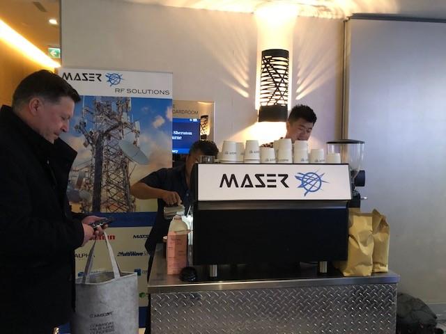 Maser at Commsday Oct 2020