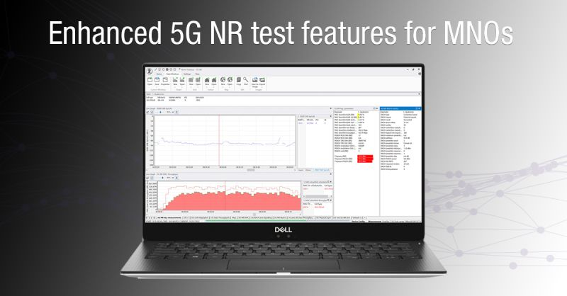 Keysight Nemo Outdoor 8.80 – Enhanced 5G NR test features for MNOs