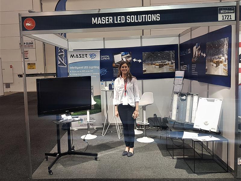 Maser attend inaugural Megatrans 2018 show